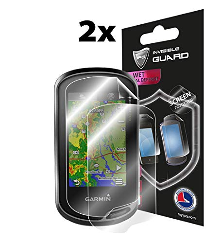 - IPG Compatible with Garmin Oregon 700-750 T Screen Protector 2X Shield Ultra HD Clear Film Anti Scratch Skin Guard - Smooth/Self-Healing/Bubble -Free+ Lifetime Replacements
