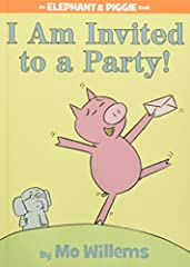 Gerald is careful. Piggie is not.Piggie cannot help smiling. Gerald can.Gerald worries so that Piggie does not have to.Gerald and Piggie are best friends.In I Am Invited to a Party! Piggie is invited to her first party. She doesn't kno...