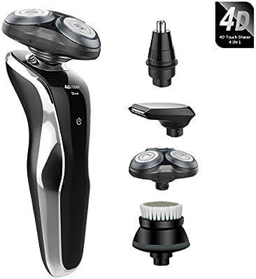 Afeitadora eléctrica, de 4 en 1 multifunción de 4d Touch ...