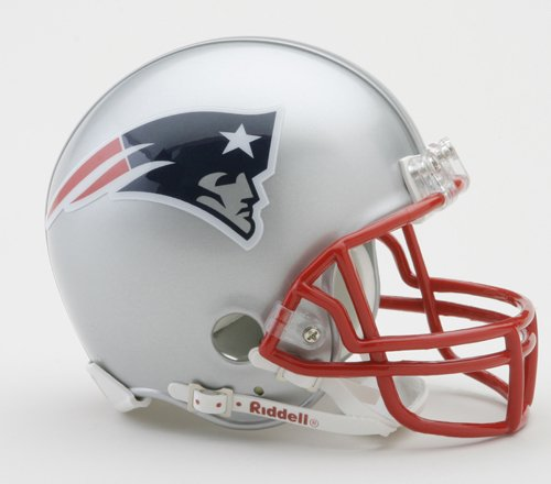 NFL New England Patriots Replica Mini Football Helmet - Riddell Nfl Replica Mini Helmet