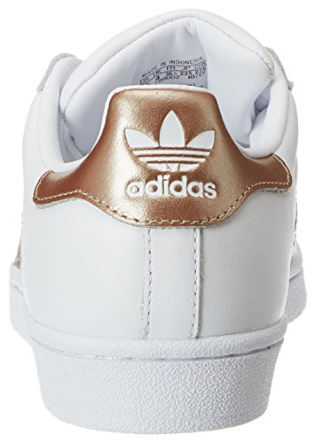 Adidas Superster Dames Trainers Ftwwht-cybemt-ftwwht