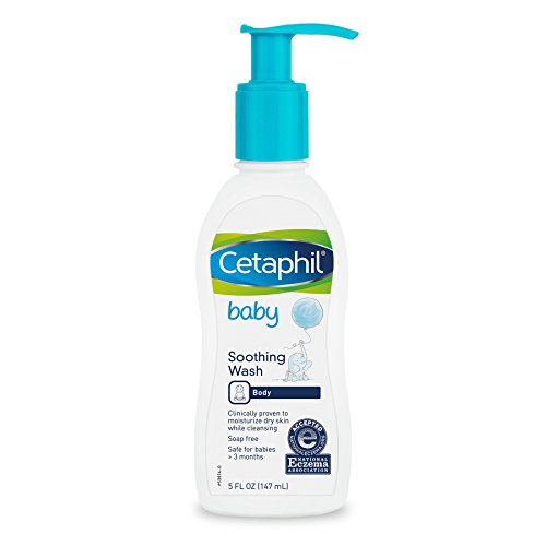 Cetaphil Baby Soothing Wash, Paraben Free, Hypoallergenic, Colloidal Oatmeal, Dry Skin, 5 Fluid Ounce