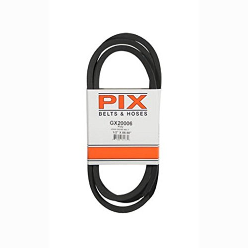 GX20006 Transmission Traction Drive Belt for John Deere L105 L107 L108 L110  L111 L118 L120 L130