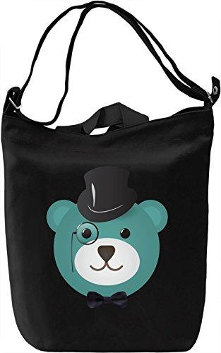 Premium Canvas Giornaliera Canvas Printing Day Fancy Canvas DTG 100 Bag bear Cotton Borsa x8q7tF4