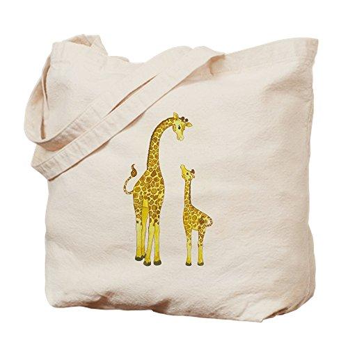 Tote And Mom Cafepress Baby Cloth Bag Giraffe Bag Shopping Natural Canvas PYqx5x