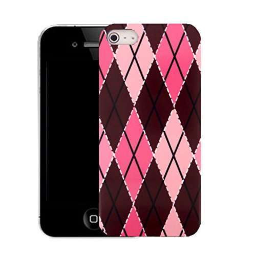 Mobile Case Mate IPhone 4 clip on Silicone Coque couverture case cover Pare-chocs + STYLET - finest pattern (SILICON)