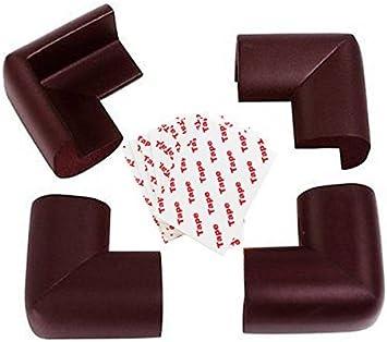 protector de mesa para beb/és Esquinas seguridad para beb/és 16/unidades de borde seguro y coj/ín de esquina Domire/ topes de seguridad para muebles