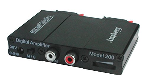 - microFidelity Audio Amplifier, Model 200 Black