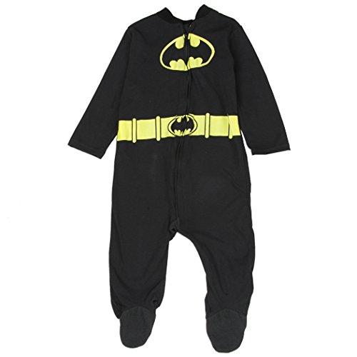 [Batman Baby Boys Costume Sleeper, 6-9 Months] (Dc Comics Penguin Costumes)