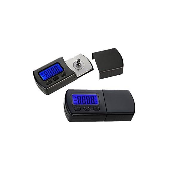 Yosoo Professional NEW Version LP Digital Turntable Stylus Force Scale Gauge led dzr For MM/MC/MI and piezoelectric