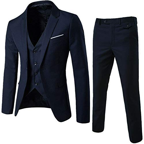Men's Notch Lapel Modern Fit Sui...