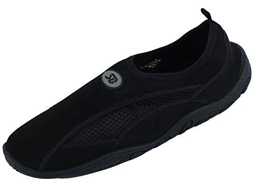 Sunville Womens Water Shoes Aqua Socks Black-2909
