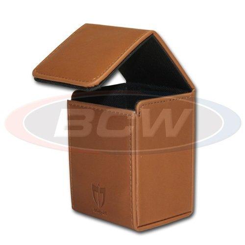 - Italian Brown - ION Deck Armor Premium Magnetic Closure Deluxe Deck Box