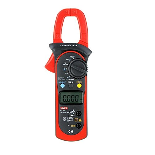 Uni-t Ut204 True RMS Auto Range Ac/dc 400a Digital Clamp Meters w/ Frequency Test Highly Voltage Tester Multimeter