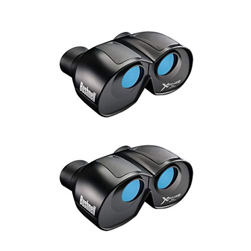 Bushnell Spectator Series 4X Magnification 30mm 900 Foot Wide View Binoculars (2 Pack)