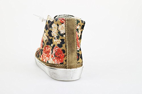 2 Star Sneakers Mädchen Beige Textile Wildleder AG549 (29 EU) OnTKG
