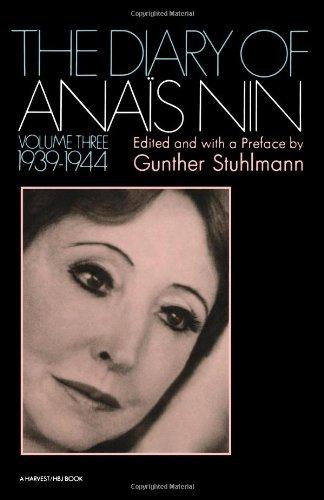 The Diary of Anais Nin, Vol. 3: 1939-1944