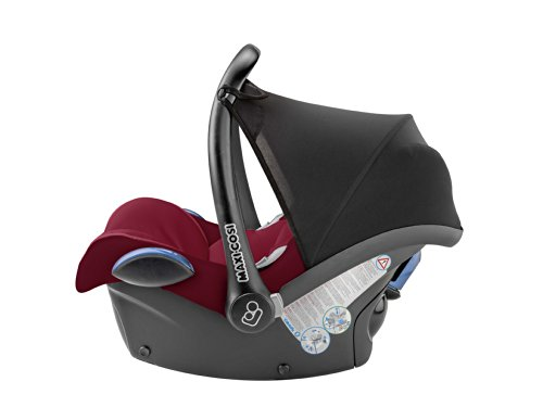 Maxi Cosi CabrioFix Group 0 Infant Carrier Car Seat Black Reflection Amazoncouk Baby