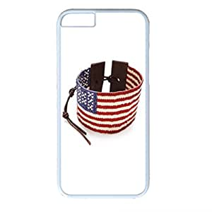 iphone 6 Case, New 2015 America Flag Design With PC White iphone 6 Case Protect iphone 6