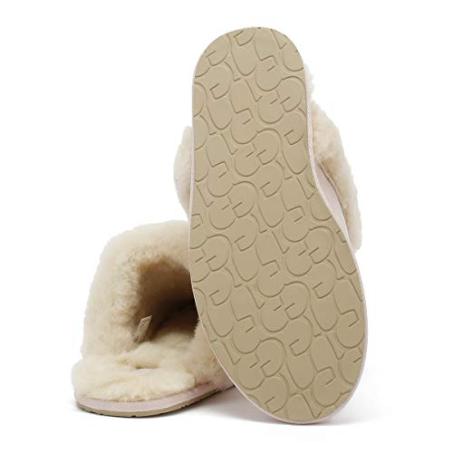 Rosa Pantofole Donna Scuffette natural Ii Pink Ugg® wq78xFaa