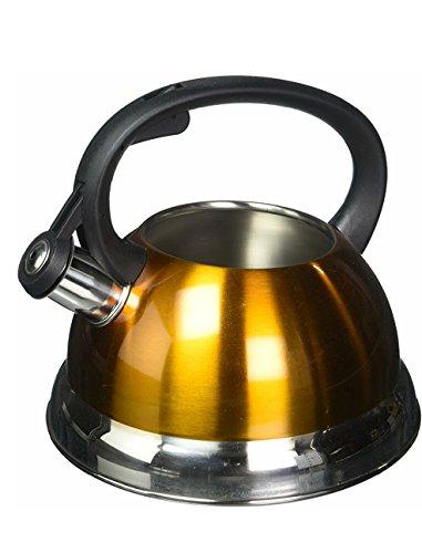 yellow tea kettle whistling - 9