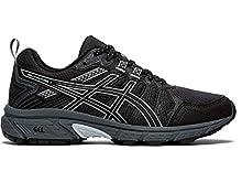 ASICS Women's Gel-Venture 7 Running Shoes, 8.5M, Black/Piedmont Grey