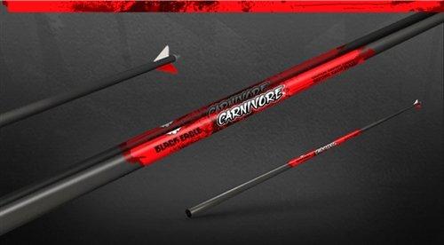 350 Eagle (Black Eagle Carnivore Fletched Hunting Arrows - 12 Pack (350/.003))