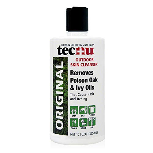 Tecnu Original Outdoor Skin Cleanser, First Step in Poison Oak and Ivy Treatment, 12 Ounces