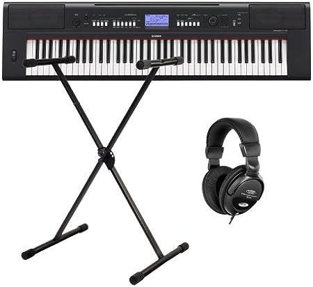Yamaha NP-V60 Portable con soporte (Piano + Auriculares ...