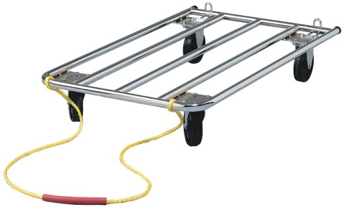 Dog Crate Dolly Perfect for Dog Shows | Easily handles Dog Carriers, Metal Dog Crates, Grooming Tables, Dog Food Bags, Etc.… by MidWest Homes for Pets