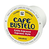 Café Bustelo Espresso Style K Cup Pods for Keurig Brewers, Dark Roast Coffee, Value 1 PacKk CNMSDF( 80 Count )