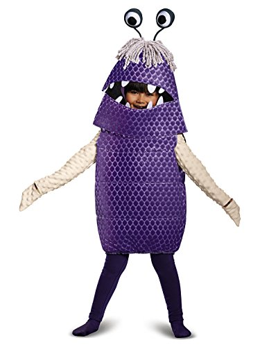 Boo Deluxe Toddler Costume, Purple, Large (4-6) -