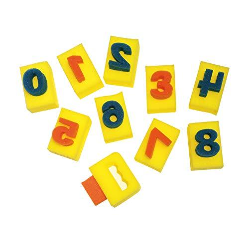 PACON Paint Handle Number Sponges