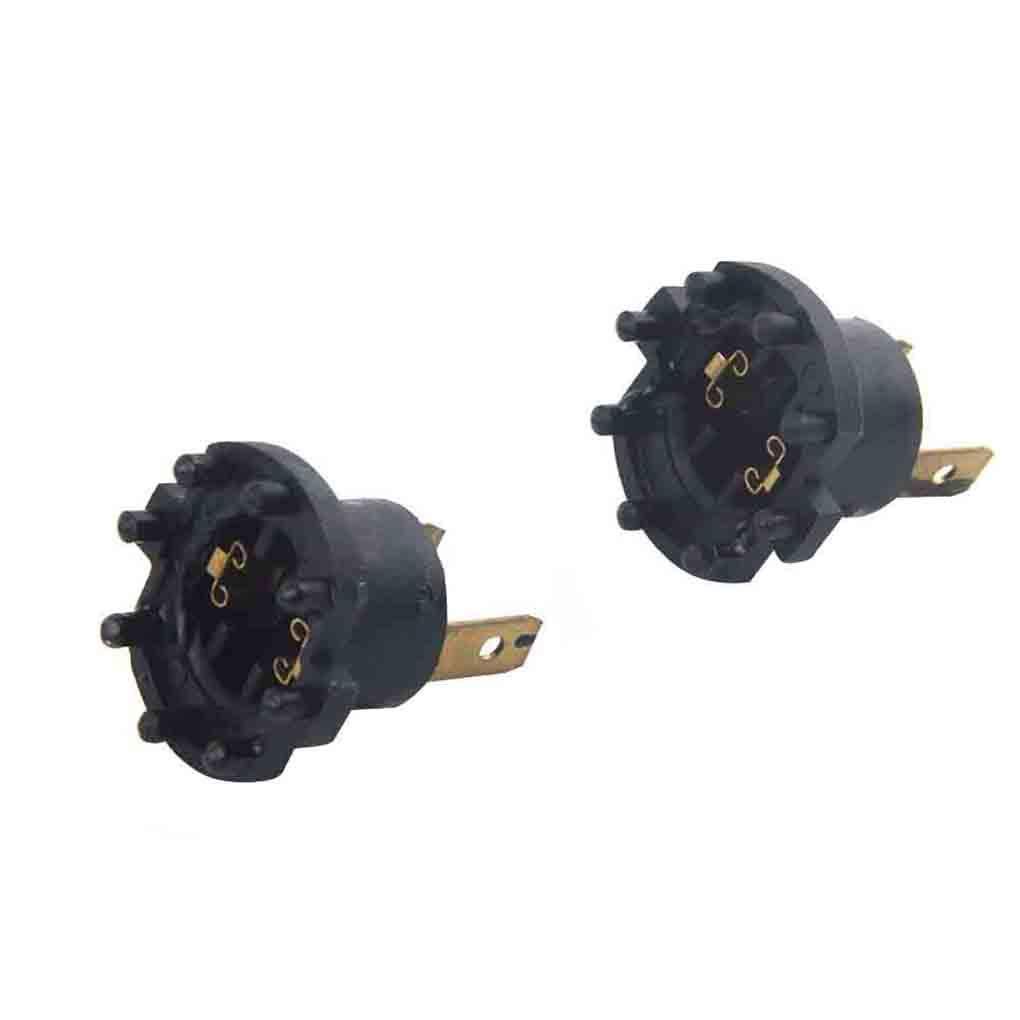 Bomcomi 1 Paio proiettore Auto Socket H7 Globe portalampada di Ricambio per Mazda 2 DE 3 323 BK BJ B28V510A3 12V