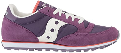 Saucony Low Jazz Purple Donna Sport per PRO Outdoor White Scape rSSW75wfxq