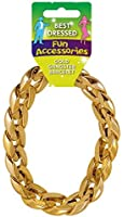 Chunky Gold Gangster Pimp Bracelet Mens Fancy Dress Jewelery