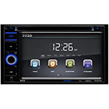 Car Stereo | BOSS Audio BV9364B Double Din, 6.2 Inch Digital LCD Monitor, Touchscreen, DVD/CD/MP3/USB/SD AM/FM, Bluetooth, Wireless Remote