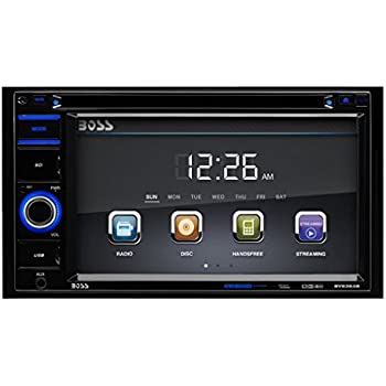 BOSS Audio BV9364B Double Din, Touchscreen, Bluetooth, DVD/CD/MP3/USB/SD AM/FM Car Stereo, 6.2 Inch Digital LCD Monitor, Wireless Remote