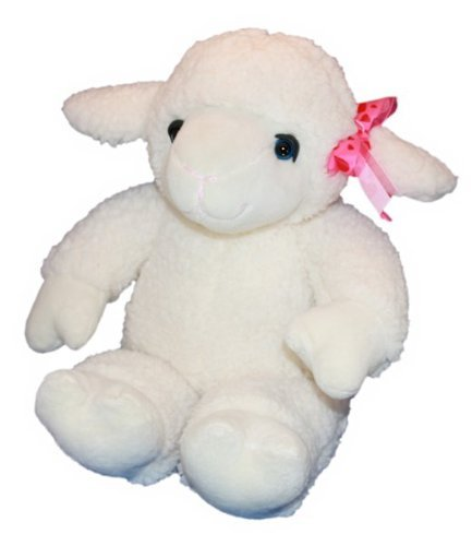 Recordable 15' Plush Lamb with 10 Second Digital Recorder