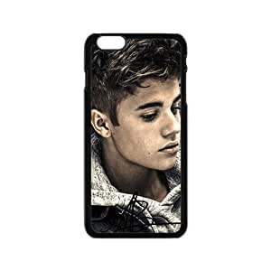PoP Star Justin Bieber Cell Phone Case for Iphone 6