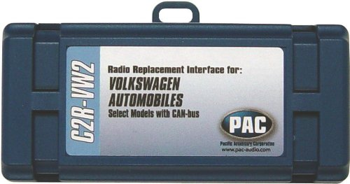 Pac C2r-Vw2 Radio Replacement Interface (With Navigation Outputs For Select Volkswagen(R) Vehicles) (12 Volt-Car Stereo Access / Interface Accessories)