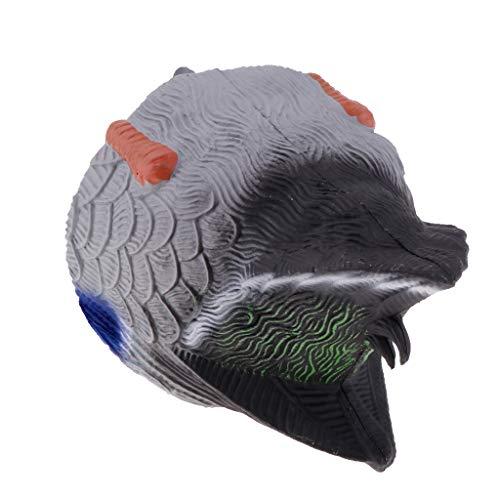 simhoa Greenhead Gear Life Size Duck Decoy, Mallard Butt-Up Feeders, Male/Female - Male Duck Butt