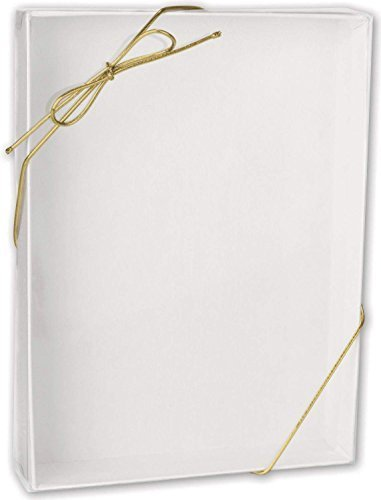 10-white-shirt-and-apparel-boxes-with-10-ribbon-bow-stretch-loops-gold