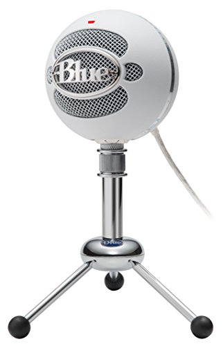 blue snowball usb microphone textured white in the uae see prices reviews and buy in dubai. Black Bedroom Furniture Sets. Home Design Ideas