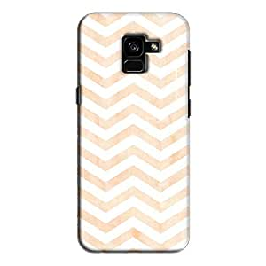 Cover It Up - Orange Bubblegum Print Galaxy A5 2018 Hard Case