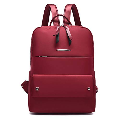 Women's Backpack Multipurpose School Travel Backpack Water Repellent Handle Bag for Women with Headphone Hole from Jasooo