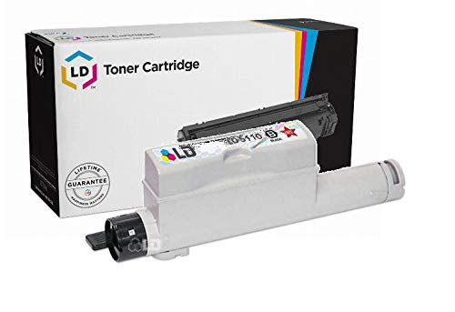 LD Compatible Toner Cartridge Replacement for Dell Color Laser 5110cn 310-7889 High Yield (Black) ()