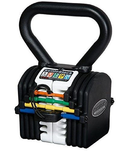 PowerBlock KettleBlock, Black/White, 20-Pound
