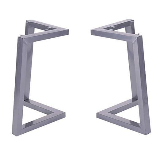 ZXL Patas de Mesa de Metal Resistente, en Forma de V, Patas de ...
