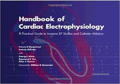 handbook of cardiac electrophysiology murgatroyd
